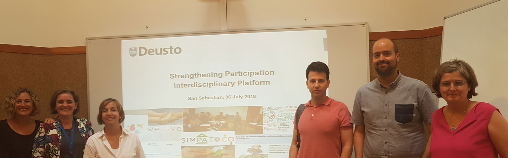Strengthening participation The platform