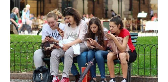 mobiles and teenagers